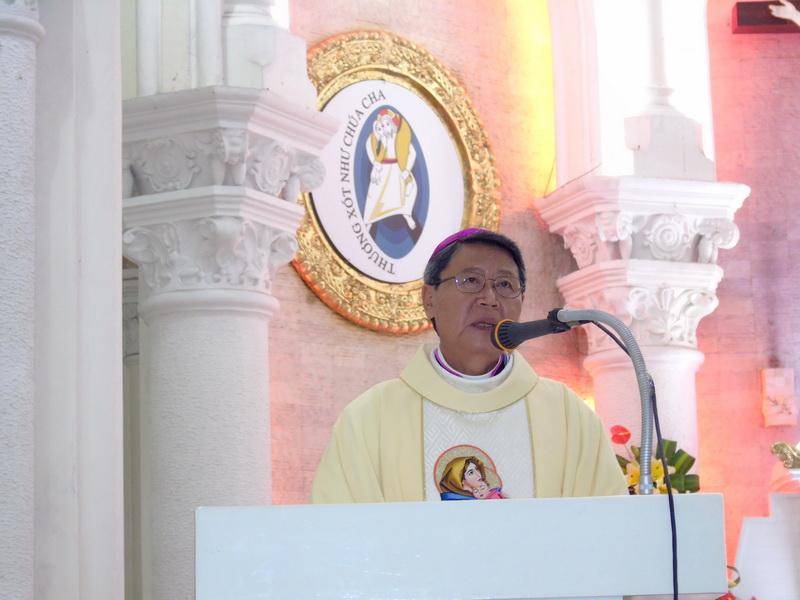 Thánh lễ tạ ơn kỷ niệm 36 năm Linh Mục và 2 năm Giám Mục GP. Mỹ Tho