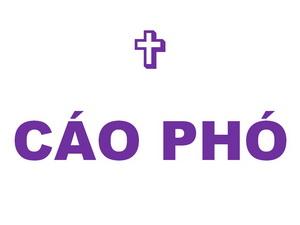 Cáo phó: Linh mục Mactinô Phạm Hữu Lễ